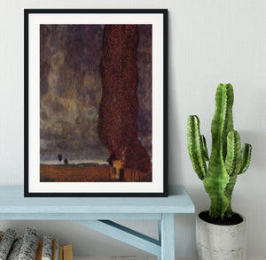 Thunderstorm by Klimt Framed Print - Canvas Art Rocks - 1