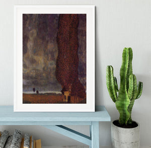 Thunderstorm by Klimt Framed Print - Canvas Art Rocks - 5