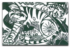 Tiger by Franz Marc Canvas Print or Poster  - Canvas Art Rocks - 1