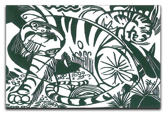 Tiger by Franz Marc Canvas Print or Poster