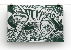 Tiger by Franz Marc Canvas Print or Poster - Canvas Art Rocks - 2