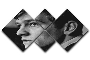 Tom Courtenay in 1961 4 Square Multi Panel Canvas  - Canvas Art Rocks - 1