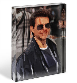 Tom Cruise Mission Impossible Acrylic Block - Canvas Art Rocks - 1
