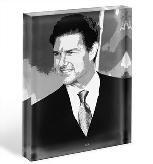 Tom Cruise Mission Impossible Fallout Pop Art Acrylic Block - Canvas Art Rocks - 1