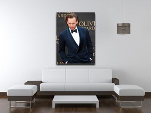 Tom Hiddlestone Canvas Print or Poster - Canvas Art Rocks - 4