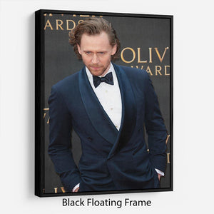 Tom Hiddlestone Floating Frame Canvas - Canvas Art Rocks - 1