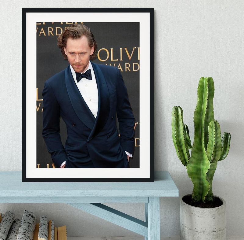 Tom Hiddlestone Framed Print - Canvas Art Rocks - 1