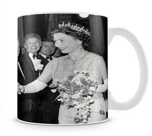 Tom Jones meets The Queen Mug - Canvas Art Rocks - 1