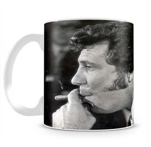 Tom Jones with cigar Mug - Canvas Art Rocks - 2