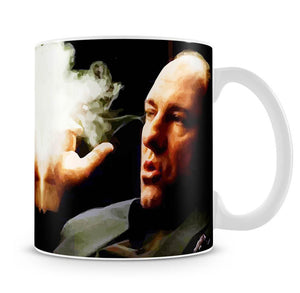 Tony Soprano Cigar Smoke Mug - Canvas Art Rocks