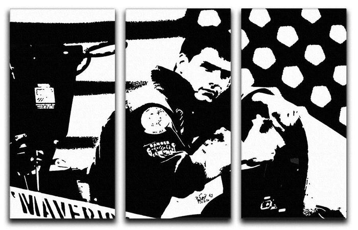 Top Gun 3 Split Panel Canvas Print