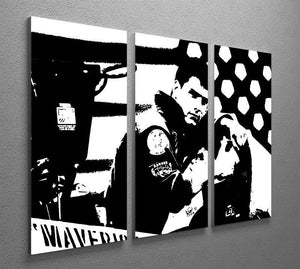 Top Gun 3 Split Panel Canvas Print - Canvas Art Rocks - 2