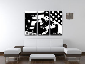 Top Gun 3 Split Panel Canvas Print - Canvas Art Rocks - 3