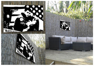 Top Gun Outdoor Metal Print - Canvas Art Rocks - 2