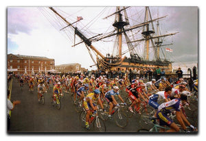 Tour de France in Portsmouth Canvas Print or Poster - Canvas Art Rocks - 1