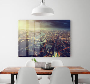 Tower Bridge in sunset time HD Metal Print