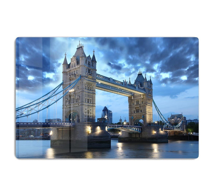 Tower Bridge in the evening HD Metal Print