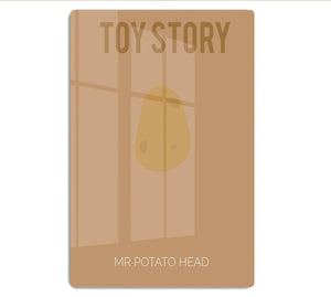 Toy Story Mr Potato Head Minimal Movie HD Metal Print