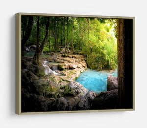 Tranquil and peaceful nature HD Metal Print