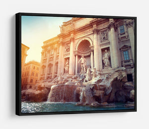 Trevi Fountain in Rome Italy HD Metal Print