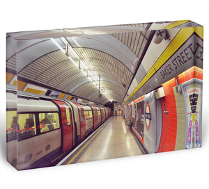 Tube Acrylic Block - Canvas Art Rocks - 1