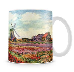 Tulips of Holland by Monet Mug - Canvas Art Rocks - 4