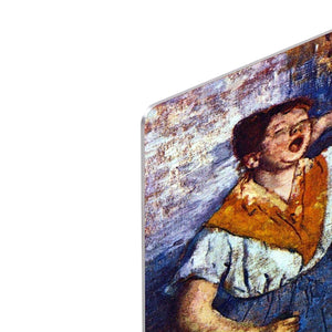 Two cleaning women by Degas HD Metal Print - Canvas Art Rocks - 4