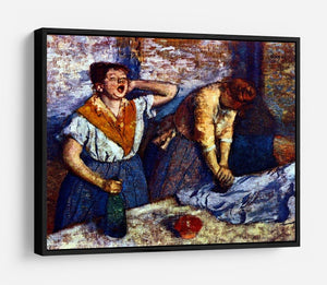 Two cleaning women by Degas HD Metal Print - Canvas Art Rocks - 6