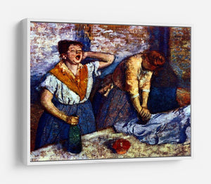 Two cleaning women by Degas HD Metal Print - Canvas Art Rocks - 7