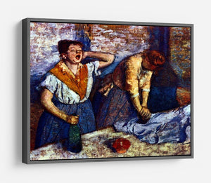 Two cleaning women by Degas HD Metal Print - Canvas Art Rocks - 9