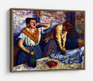 Two cleaning women by Degas HD Metal Print - Canvas Art Rocks - 10