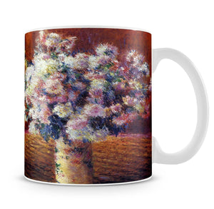 Two vases with Chrysanthemums by Monet Mug - Canvas Art Rocks - 4