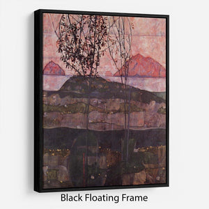Underground Sun by Egon Schiele Floating Frame Canvas - Canvas Art Rocks - 1