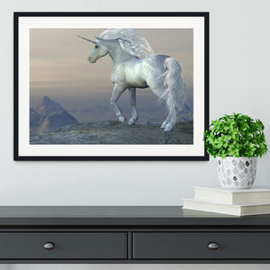 Unicorn Bluff Framed Print - Canvas Art Rocks - 1