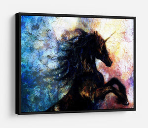 Unicorn dancing HD Metal Print