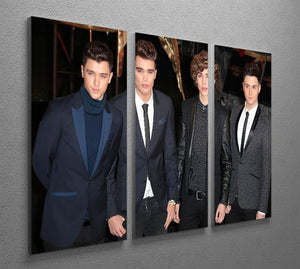 Union J Band 3 Split Panel Canvas Print - Canvas Art Rocks - 2
