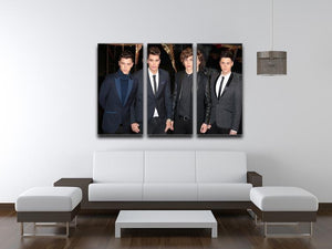 Union J Band 3 Split Panel Canvas Print - Canvas Art Rocks - 3
