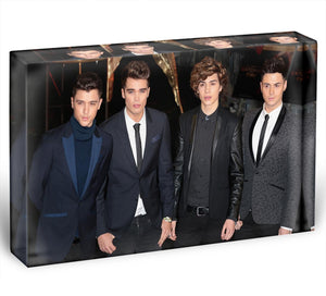 Union J Band Acrylic Block - Canvas Art Rocks - 1