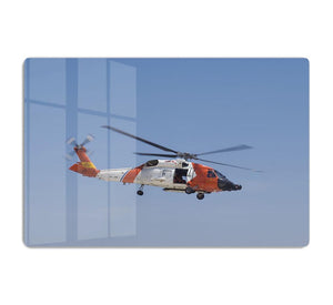 United States Coast Guard helicopter HD Metal Print