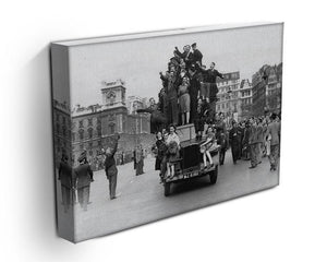 VE celebrations in London Canvas Print or Poster - Canvas Art Rocks - 3