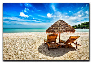 Vacation holidays Canvas Print or Poster - Canvas Art Rocks - 1