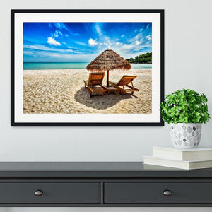 Vacation holidays Framed Print - Canvas Art Rocks - 1