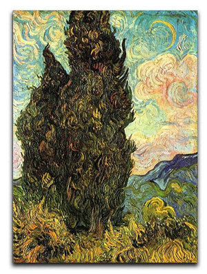 Van Gogh Cypresses Canvas Print & Poster  - Canvas Art Rocks - 1