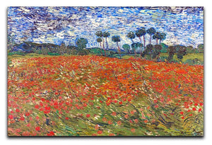 Van Gogh Poppies Field Canvas Print or Poster  - Canvas Art Rocks - 1