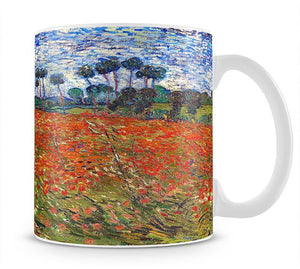 Van Gogh Poppies Field Mug - Canvas Art Rocks - 1