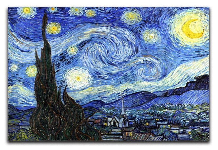 Van Gogh Starry Night Canvas Print or Poster