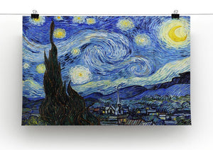 Van Gogh Starry Night Canvas Print or Poster - Canvas Art Rocks - 2