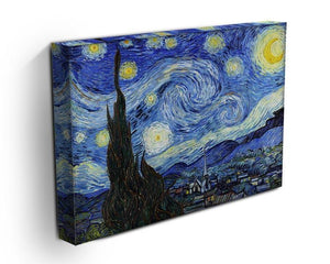 Van Gogh Starry Night Canvas Print or Poster - Canvas Art Rocks - 3