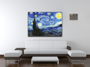 Van Gogh Starry Night Canvas Print or Poster - Canvas Art Rocks - 4