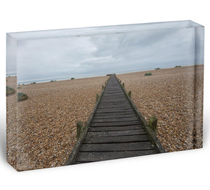Vanishing Point Acrylic Block - Canvas Art Rocks - 1